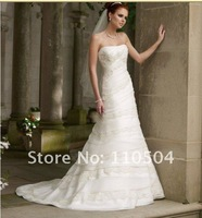 WD008 dropshipping New style sexy best selling sleeveless wedding dress