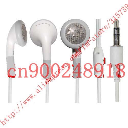 Earphones For iPod iPad iphone 4 5 6, earphone MP3 MP4 Player 3.5mm In-Ear earphone Headphones 500pcs/lot DHL Free Shipping(China (Mainland))