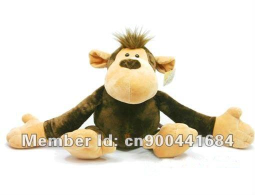 2014 Cool gift NICI plush toy- 50cm NICI Wild Friend Black Monkey Plush stuffed toys-Free shippinng!(China (Mainland))