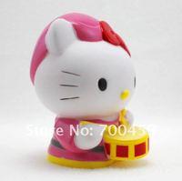 wholesale 35Pcs Hello kitty crafts gift Cartoon Coin money-box