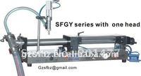 50-500ml Piston liquid/shampoo filling machine (filler)
