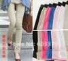 Sweet Candy Color Pencil Pants,Women's Tights Leggings ladies trousers 7color in stock Free shipping