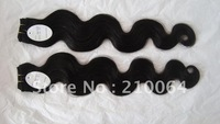 hot sale 3pcs/lot AAA quality brazilian virgin hair extensions 16 18 20 22 24 inches free shipping  &amp; fast
