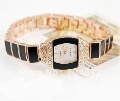 model 1 Fashion Elegant women watch bracelet watch matel watch with crystal 1pc+free shipping