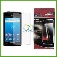 5 Pieces/ Package  Cell Phone Screen Protector Screen Guard For SAMSUNG CAPTIVATE GALAXY S i897