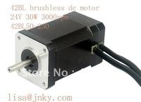 24V  30W brushless dc motor 42BL50-230