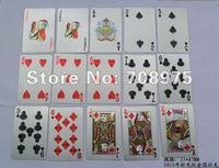 In 2012 the new gold foil cards 24K gold poker gold poker advertising poker custom