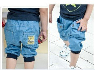 free shipping,Wholesale ,fashion Summer Boy's Jeans,Kid's denim short pant(China (Mainland))