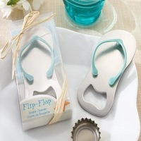"Wedding Favors ""Pop the Top"" Flip-Flop Bottle Opener+100sets/LOT+FREE SHIPPING+Lowest Price"