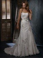 Popular Designer wedding dresses 2012 new style free shipping