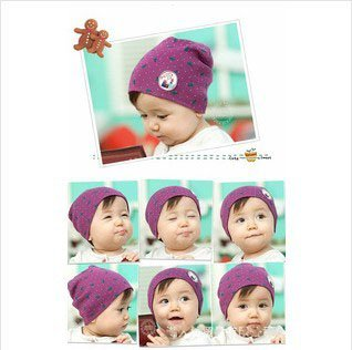 Wholesale Baby Cotton Spring Hat  Infant Toddler Kid Beatles Printing Cap New Baby Cap Children Beadwear