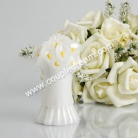 Free Shipping Wholesale Promotion Pearl Lily Wedding Candle Favor