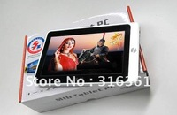 Cheapest VIA8650 7inch Tablet PC,4GB Andriod 2.2 7inch MID Free shipping!