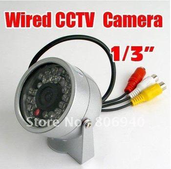 Wholesale - 30LED IR Color CCTV CMOS Surveillance Video Camera 802