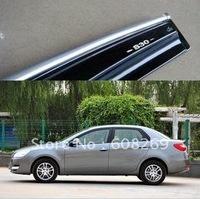 freeshipping! Wholesale  Dongfeng Fengshen S30 block special rainscreen Fengshen S30 rain eyebrow / rain gear