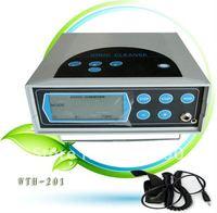Detox foot spa massage machine with FIR Belt and Big LCD Screen 5pcs/lot