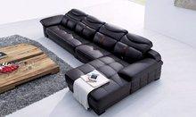 sofá, com seca em estufa frame da madeira contínua interna e compensado, metal mola.(China (Mainland))