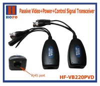 Passive Video and Power and Control Signal Transceiver