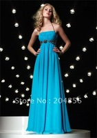 Free Shipping Hot Sale Fashion Style Celebrity Prom Dress Evening Dress 2012 Chiffon Evening Gown