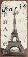 2014Hot sale/Sight of paris metal signs/tin signs/shop/hotel  decoration/metal craft/ outdoor sign/metal signs