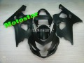 Factory Outlet,1 set 2004 2005 04 05 K4 GSXR600 750 ABS Fairings Kit Pure Matt black Details show High Quality