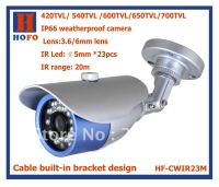 "1/3""  CCD Color waterproof CCTV camera HF-CWIR23M"