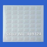 """Free Shipping: """"1000 pcs/lot"""" 18*13mm Rectangle Clear Dome Sticker For DIY Jewelry Making or Packing"""