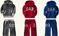 Warm design tracksuits, kids jackets+pants, door to door fast shipping, kids clothes sets, safe payment
