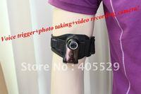 Voice trigger+ photo taking+ video recording+ USB PC camera Muti-function  Free shipping!