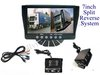 7inch Split Monitor Camera System for Truck,DC12V~24V Power Input,with 2 Cameras