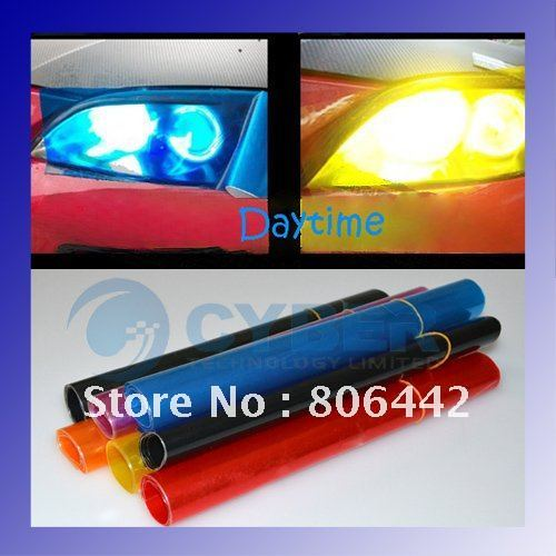 2pcs White 6 LED Universal Car Light Aux DRL Daytime Running freeshipping