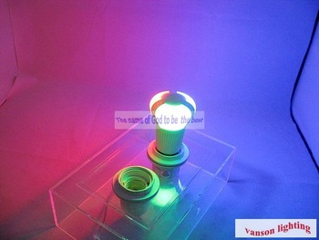 New arrival Free shipping!5PCS/LOT E27 3W RGB(red,green,blue)led lamp warm white and white Warranty 2 year fasr shipping