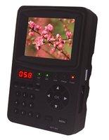 "DHL free shipping 3.5"" TFT DVB-S2 HD Handheld Satellite Finder Meter Monitor ABS-S CBS-S MPEFG-4 Signal"