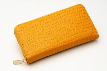 Hottest sale genuine leather long female wallet, Europe salable bags, cowskin lady clutch bag
