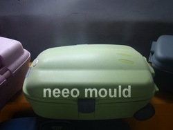 plastic baggage box mould(China (Mainland))