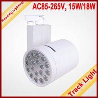 15W LED Track Light, Flood Light, DC85-265V, 15*1W[Housing Lighting]