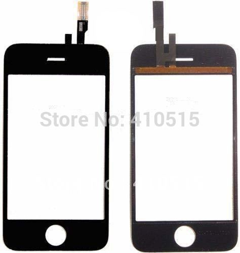 Touch Screen Digitizer for iphone 3G black colors free shipping(China (Mainland))