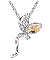 Free shipping Crystal pendant make with Swarovski Elements +mix wholesale !