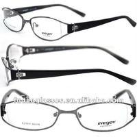 free shippment New arrival EYESJOY EJ 1011 gun metal mix order new model optical frame tr90 eyeglasses frames eyewear frames