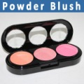 Free Shipping 3 Color professional Makeup Powder Blush face Palette (0501094)