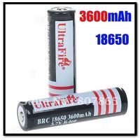 2 x 18650 Li-ion 3600mAh 3.7V Battery Free Shipping