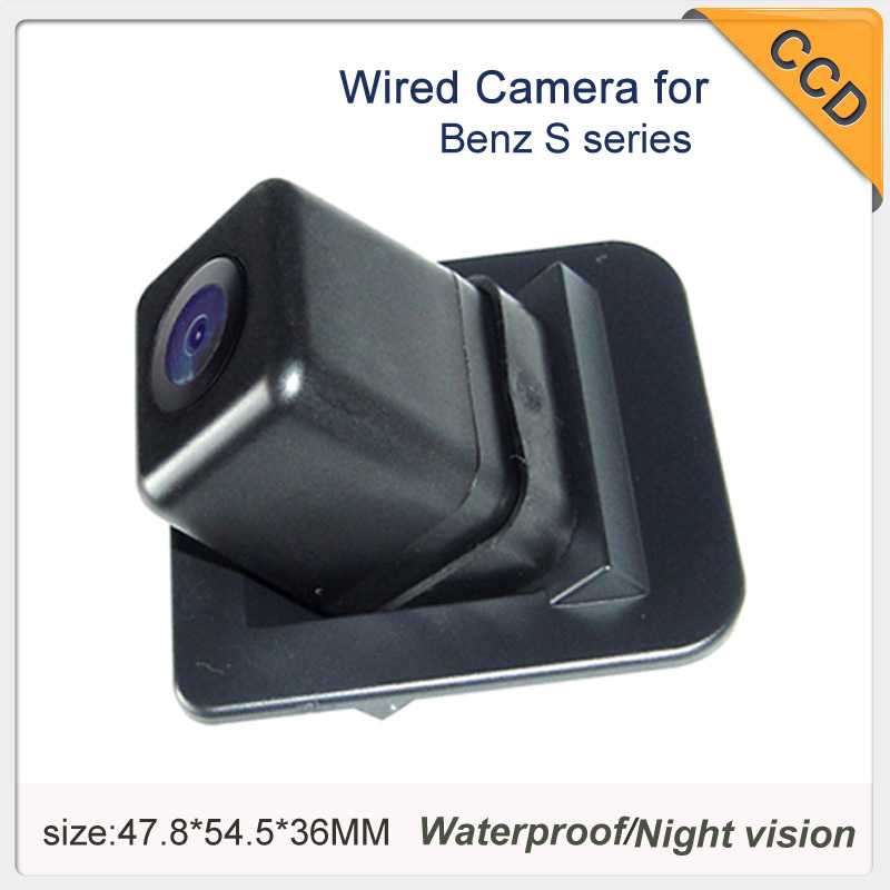 "Wholesale Night vision Car Camera Wired/wireless CCD 1/3"" car parking camera for Pegueot 206/207/407/307 Sedan/307SM 1070K"