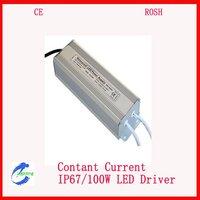 2pcs/Lot  Constant Current Waterproof 100W LED Driver