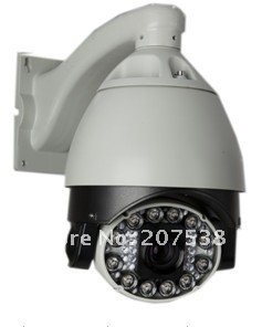 "IR Infrared LED night vision 27x  Zoom Speed Dome 1/3"" Sony CCD 480TVL PTZ 6""  Surveillance system CCTV"