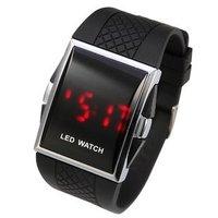 Наручные часы Cool Yellow jelly Silicone Men Women Student Wrist Analog Watch, High Fashion W2121
