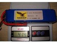 Free shipping! GIFI POWER 3S 11.1V 5000MAH 30C Recharger Lipo rc Battery FPV