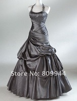 ED008 dropshipping New style sexy best selling sleeveless evening dress
