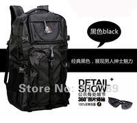 2015 Sale Unisex Softback Solid Mesh Nylon Mochila Masculina Mochilas New Style Camping Hiking Backpack free Shipping Sports