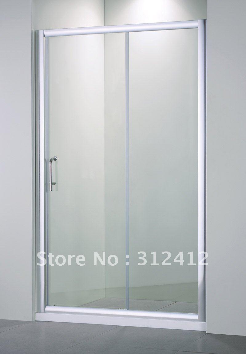 Esquina de vidrio templado de seguridad cabina de ducha de - Puertas correderas de vidrio templado ...