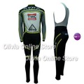 Thermal 2012 Geox TMC Long Sleeve Cycling Jersey And BIB Pants S~XXXL,accept customized